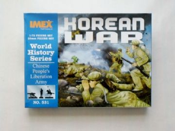 Imex 531 Korean War Chinese Troops 1:72